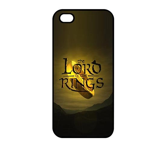 Coque,Phone Protection Case Covers Newly Coque iphone SE & Coque iphone 5 & Coque iphone 5S Hard Casing(Lord of the Rings Map)