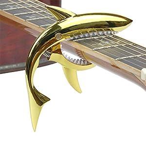 Hai-Form Kapodaster Gitarre Capo Guitar Capo für akustische und elektrische Gitarre, Ukulele, Banjo und Mandoline…