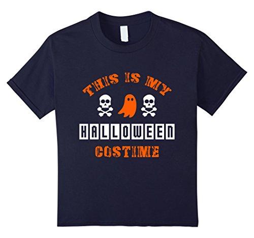 Halloween Costime (Kids This Is My Halloween Costime OFFICIAL T-Shirt Kids Men Women 12 Navy)