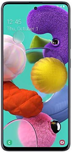 Tracfone SAMSUNG Galaxy A51 4G LTE prepaid Smartphone (Locked) - Black - 128GB - Sim Card Included - CDMA