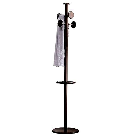 Amazon.com: Drying Racks Solid Wood Coat Rack Hanger Floor ...