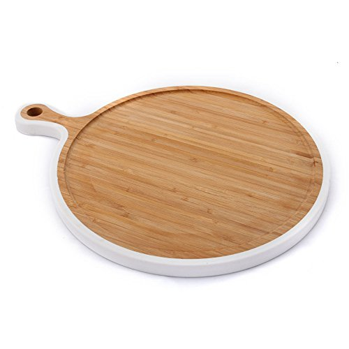 Circular Chopping Board - Elite Global Solutions BB1511R Bamboards 15