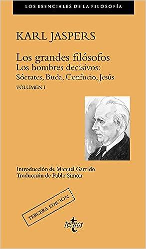 Volumen I: 1 Filosofía - Los Esenciales De La Filosofía: Amazon.es: Karl Jaspers, Anaya Infantil y Juvenil, Pablo Simón: Libros