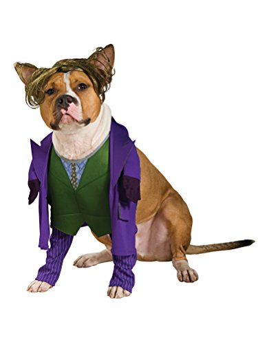 Batman The Dark Knight Joker Pet Costume, X-Large]()