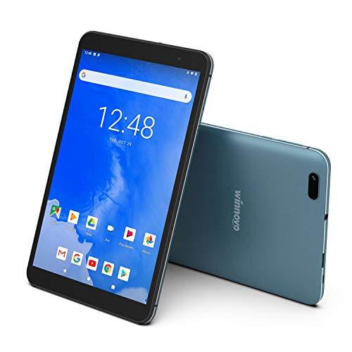 Android 9.0 Tablet 8 Inch WiFi PC Tablets - Winnovo T8 MTK MT8163 2GB RAM 32GB ROM HD IPS 1280x800 2.0MP+5.0MP Camera Bluetooth GPS FM (Blue)