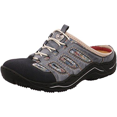 Rieker Damen Sabot Blau, Schuhgröße:EUR 40