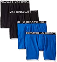 Under Armour Boys Charged Cotton Stretch Boxer Jock
