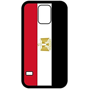 Egypt Flag Black Samsung Galaxy S5 Cell Phone Case - Cover