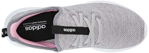 adidas Women's Cloudfoam Pure, Grey/True Pink, 5.5 M US by adidas (Image #8)