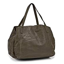 Co Lab Women's Madison Washed Triple Compartment Tote Bag