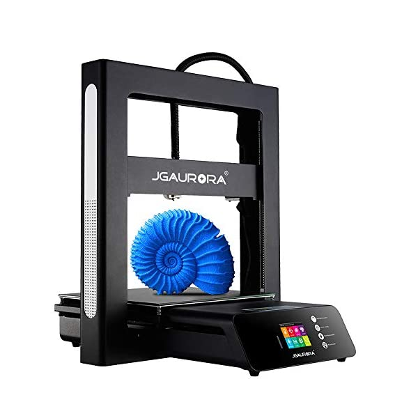 JGAURORA Upgraded A5S 3D Printer Stable Working with Resume Print Filament Run Out Detection Large Build Volume 12X12X12.6in for Home Industry School Education use 110V US Plug