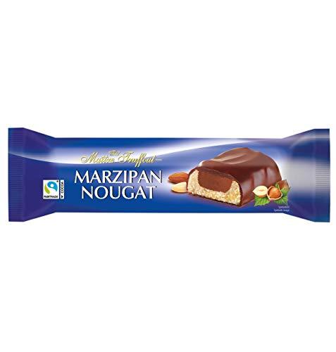 Maitre Truffout, German Marzipan-nougat in Milk Chocolate 75g Bar (10 pcs) ()