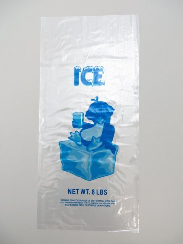 1000 bags case Plastic Bag Clear product image