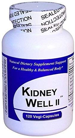 KidneyWell II (1 Bottle w/ 120 Capsules) - Concentrated Kidney Full Spectrum Herbal Blend - Dietary Supplement Kidney Well Restore by Get Well Natural, LLC