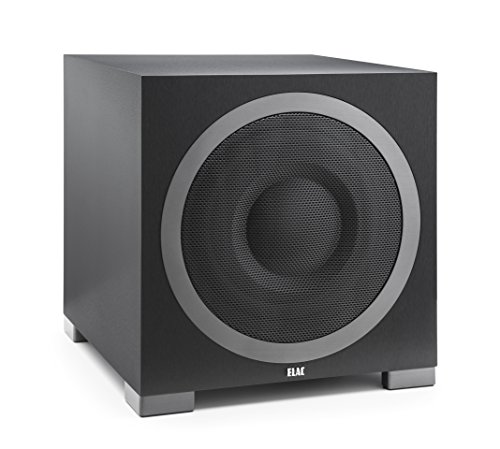 ELAC S12EQ Debut Series 1000 Watt Powered Subwoofer by Andrew Jones with AutoEQ by Elac