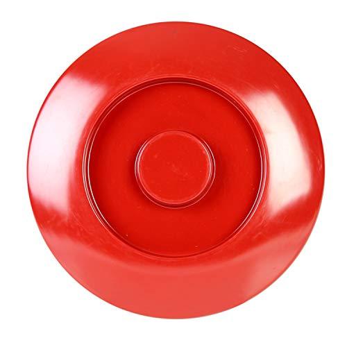 Nustone red melamine dinnerware collection 8 1/4