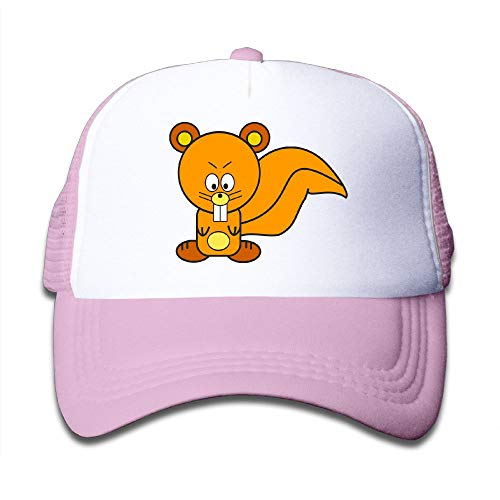 SSUJ7 Squirrel Clipart Cute Collection Customized Boys Girls Adjustable Baseball Hats for Kids ()