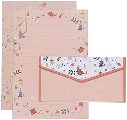 2 sobres creativos y 4 papeles de cartas, vintage, florales ...