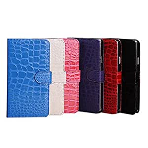 Luxury Leather Cover Stand Wallet Case with Card for Samsung Galaxy Note 3 Note III --- COLOR:Black