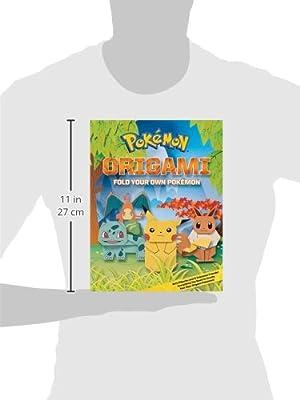 Pokemon Origami Fold Your Own Pokemon Pikachu Press