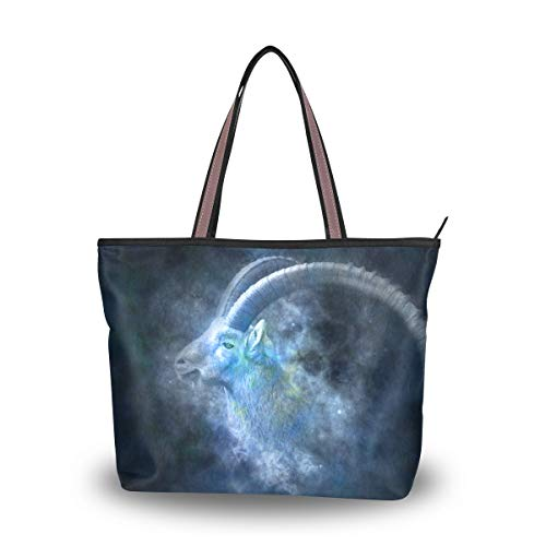 Brighter Constellation Aries Women's Tote Bag Hand Bags Shoulder Bags for Ladies Girls