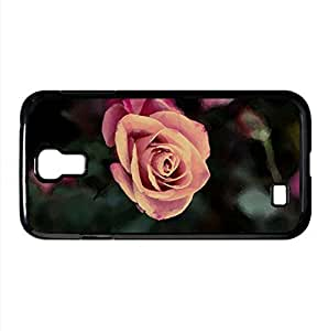 Rose Bush Watercolor style Cover Samsung Galaxy S4 I9500 Case (Flowers Watercolor style Cover Samsung Galaxy S4 I9500 Case)