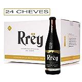 Cerveza Artesanal Rrëy Monterrëy Stout, 24 botellas de 355 mL