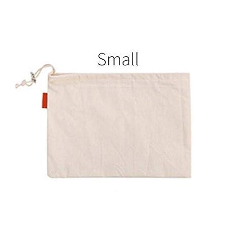 Reutilizable Bolso de Lazo Malla de algodón Bolsas para Pan ...