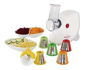 Moulinex ME415132 - Robots de cocina, 1400 W, color blanco