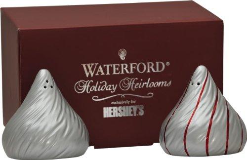 Waterford Salt And Pepper (Waterford Holiday Heirlooms Hershey Kisses Sat & Pepper Shaker)