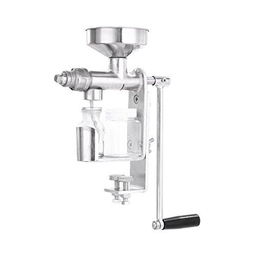 Olive Kitchen Accessories Price List: VEVOR Manual Oil Press Stainless Steel Oil Press Machine