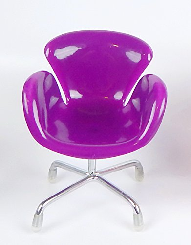 (SL#1 High quality Mini chair) PURPLE Fashionable Universal Cell Phone / Camera / PDA / MP3 MP4 / Electronics / Card Holder / Holster / Cradle / Mount / Mini chair Stand Display - Chair Display
