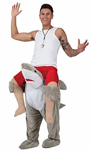 Piggyback Ride On Riding Shoulder Adult Costume Shark Bindskin Pants Animals Kidding Pants Performance Dresses Spoof Devil Pants