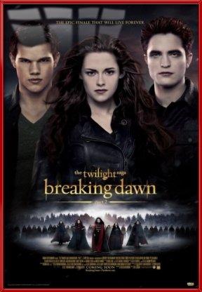The Twilight Saga: Breaking Dawn - Part 2 - Framed Movie Pos