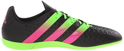 adidas Performance Herren Ace 16.3 im Fußballschuh Schwarz / Shock Green / Shock Pink
