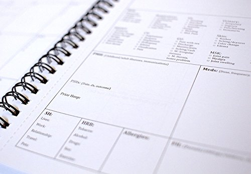 Progress & H&P + 4 Day SOAP Notebook - Progress Note + Medical History and Physical notebook, 50 templates with perforations by Medical Basics (Image #4)