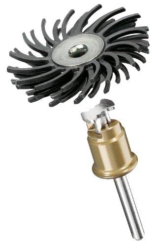 Dremel 2615S471JA EZ SpeedClic: Cepillo abrasivo para Detalles, Grano 36 (471S), Negro