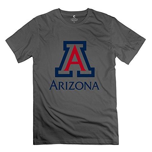 Aimei Customize Men university of arizona Logo Best Graphic Normal Fit T Shirt