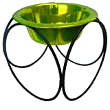 Platinum Pets 8 Cup Olympic Diner Stand with Wide