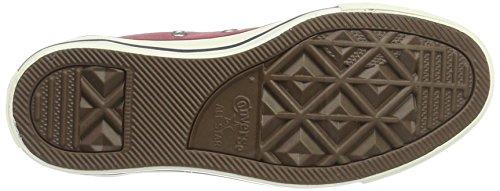Converse Unisex-Erwachsene CTAS Ox Port/Garnet/Egret Sneaker Rot (Port/Garnet/Egret)
