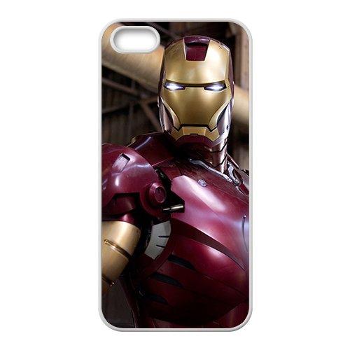 NCCCM iron man traje New Phone Case for iPhone 5S: Amazon ...
