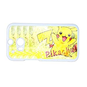 Clear Phone Cases For Kid For Htc M8 Printing Pikachu Choose Design 4