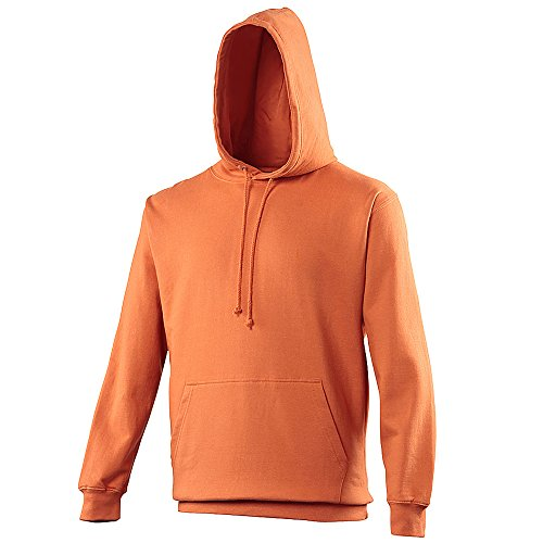 Orange Hommes College Streetwear Hoodie Sweat Capuche Awdis Burnt Hoods E8ZzqHP