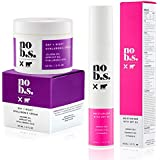 No B.S. Protect & Quench Duo - Face Moisturizer With SPF 20 and Hyaluronic Cream. Potent & Clean Skincare. No Hype. No Fads.