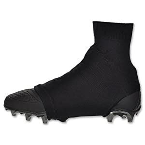 Black Large Razur Sports Cleat Cover Spat