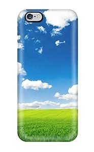 New Fashion Premium Tpu Case Cover For Iphone 6 Plus - Pure Nature Hd
