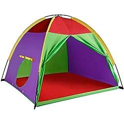 """Alvantor Indoor Children Play Toddler Kids Pop up Tent Boys Girls Toys Outdoor Houses 8017 Giant Party 58""""x58 x47"""