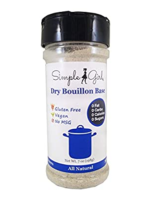 Simple Girl Dry Bouillon Base - All Natural, Gluten Free and Sugar Free