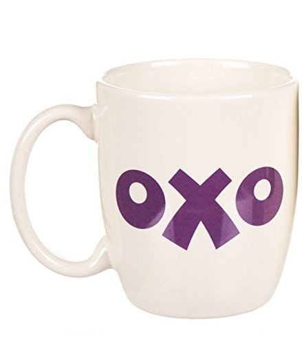 Oxo Logo Stoneware Yellow Purple