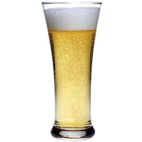 12 Oz Flared Pilsner Glass (Anchor Hocking Academy of Beer Rim Tempered Flared Pilsner Glass, 12 Ounce -- 12 per)